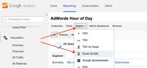 Eksporter til Excel